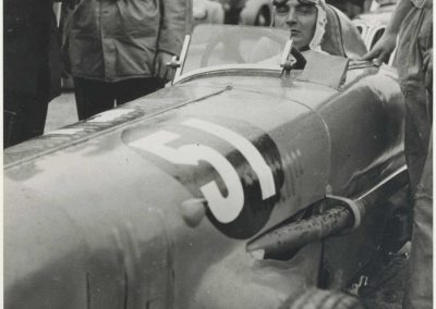 1946 09 06 Circuit Saint-Cloud Coupe Conseil Municipal Inauguratuib de l'Autoroute de l'Ouest. C.A. Martin Amilcar n°51 MCO 1500cc. 8