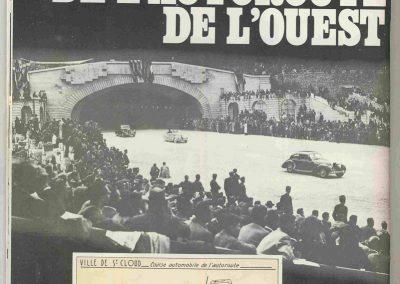 1946 09 06 Circuit de Saint Cloud, Inauguration de l'Autoroute de l'Ouest, Amilcar MCO 1500, C.A. Martin n° 51, Louveau Maserati. 1