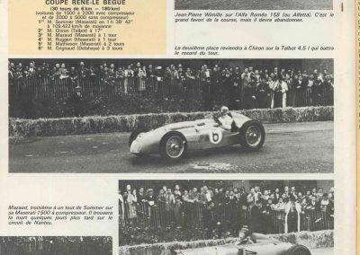 1946 09 06 Circuit de Saint Cloud, Inauguration de l'Autoroute de l'Ouest, Amilcar MCO 1500, C.A. Martin n° 51, Louveau Maserati. 17