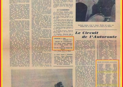 1946 09 06 Circuit de Saint Cloud, Inauguration de l'Autoroute de l'Ouest, Amilcar MCO 1500, C.A. Martin n° 51, Louveau Maserati. 3