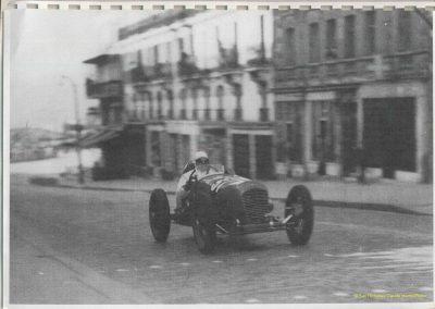 1946 09 06 Circuit de Saint Cloud, Inauguration de l'Autoroute de l'Ouest, Amilcar MCO 1500, C.A. Martin n° 51, Louveau Maserati. 5