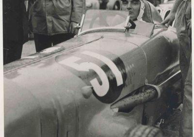1946 09 06 Circuit de Saint Cloud, Inauguration de l'Autoroute de l'Ouest, Amilcar MCO 1500, C.A. Martin n° 51, Louveau Maserati. 8