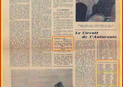 1946 09 06 Circuit de Saint-Cloud. Coupe Cons. Municipal et Ville de St-Cloud. Amilcar MCO 1500 C.A. Martin n°51, le 1100 de Mestivier n°38, 10ème et le Monoplace Amilcar de Ondet n°56, 12ème. 2