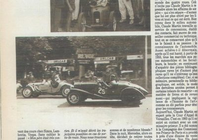 1947 15 09 Bol d'Or. Les Loges. 1er Cat Course Amilcar Monoplace Le Jamtel. Cat. Sport 1er Cayla Simca-Gordini. 1