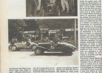 1947 15 09 Bol d'Or. Les Loges. 1er Cat Course Amilcar Monoplace Le Jamtel. Cat. Sport 1er Cayla Simca-Gordini. 1