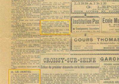1947 15 09 Bol d'Or. Les Loges. 1er Cat. Course Amilcar Monoplace Le Jamtel. Cat. Sport 1er Cayla Simca-Gordini. Claude Martin sur la Baby Amilcar. 14