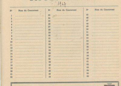 1947 15 09 Bol d'Or. Les Loges. 1er Course Amilcar Monoplace Le Jamtel. Cat. Sport 1er Cayla Simca-Gordini. Claude Martin sur la Baby Amilcar. 3