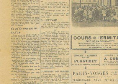 1947 15 09 Bol d'Or. Saint-Germain-en-Laye, les Loges. 1er Cat. Course Amilcar Monoplace Le Jamtel. Cat. Sport 1er Cayla Simca-Gordini. Claude Martin sur la Baby Amilcar. 10