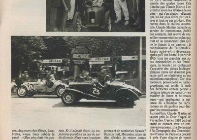 1947 15 09 Bol d'Or. Saint-Germain-en-Laye, les Loges. 1er Cat. Course Amilcar Monoplace Le Jamtel. Cat. Sport 1er Cayla Simca-Gordini. Claude Martin sur la Baby Amilcar. 4
