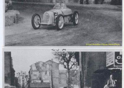 1947 20 04 Circuit d'Avignon. 1er Trintignant-sur l'Amilcar Monoplace 6 cylindres 1100cc de Ondet. 3