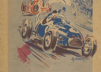 1947 27 07 Coupe de Paris à Longchamp-Bagatelle. Coupe du Conseil Municipal, Mestivier Amilcar MCO 1100, Ondet Monoplace et Jeff. 6 Simca, 8 Cisitalia. Coupe de l'AGACI. 1