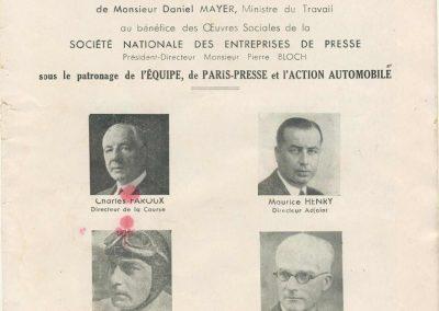 1947 27 07 Coupe de Paris à Longchamp-Bagatelle. Coupe du Conseil Municipal, Mestivier Amilcar MCO 1100, Ondet Monoplace et Jeff. 6 Simca, 8 Cisitalia. Coupe de l'AGACI. 2