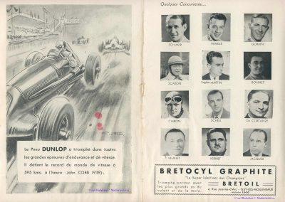 1947 27 07 Coupe de Paris à Longchamp-Bagatelle. Coupe du Conseil Municipal, Mestivier Amilcar MCO 1100, Ondet Monoplace. 3
