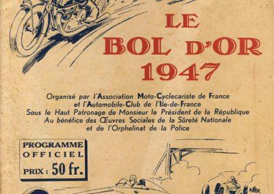 1947-Bol-d-Or-Programme