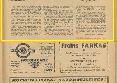 1947 Bol d'Or par F. Bucchianéri_