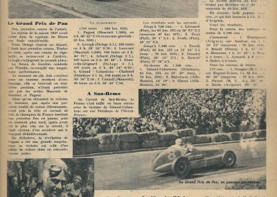 1947 GP de Pau Pagani-Maserati. Delahaye 1