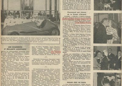 1948 -- 07 GP Paris, Coupe d'Argent. 2ème Le Jamtel Amilcar et 5ème Jeff Amilcar. 4