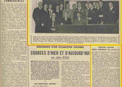 1948 14 11 Reportage par Jules Goux. 1