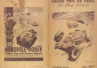 1948 30 05 1er GP de Paris à Montlhéry, Coupe d'Argent, 1er Le Jamtel, Amilcar Monoplace Dauphine. 2