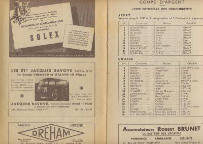 1948 30 05 1er GP de Paris à Montlhéry, Coupe d'Argent, 1er Le Jamtel, Amilcar Monoplace Dauphine. 5