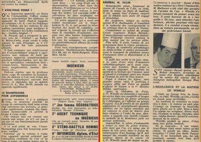 1949 -- 01 Hommage à R. Benoist par le Général Valin 1