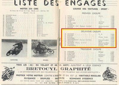 1949 09 10 GP du Salon, Montlhéry, Pollédry, Grignard, Pozzi, Wagner... 2