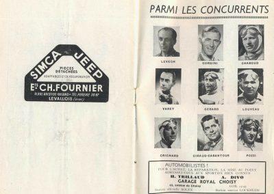 1949 09 10 GP du Salon, Montlhéry, Pollédry, Grignard, Pozzi, Wagner... 6