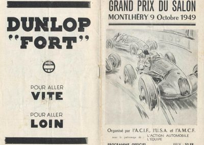 1949 09 10 GP du Salon à Montlhéry, Williams, Pollédry, Grignard, Pozzi, Wagner... 1