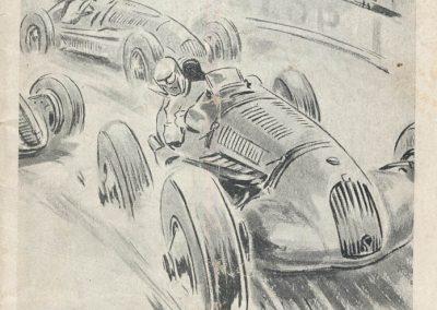1949 09 10 GP du Salon de Paris à Monthléry Hommage à Williams, Pollédry, Grignard, Pozzi, Wagner, Sommer, Colibet Chef de piste... 1