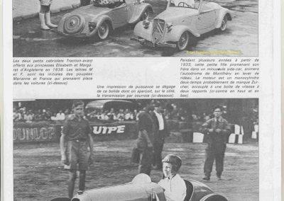 """1949 17-07 GP de France à Reims. Claude Martin pilolotant l'Amilcar """"Baby"""" d'Usine reproduisant la M.C.O. 1500 des Records du Monde. 1"""