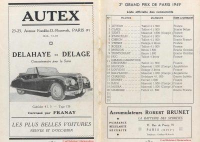 1949 24 04 2ème GP de Paris à Montlhéry. Coupe d'Argent, 1er Amilcar Monoplace Le Jamtel 6