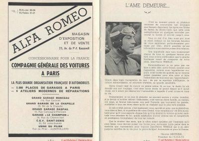 1949 24 04 2ème GP de Paris à Montlhéry. Coupe d'Argent, 1er Amilcar Monoplace Le Jamtel. 12