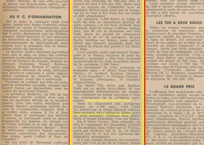1949 24 04 GP de Paris. Coupe d'Argent. Amilcar 1er Course Le Jamtel Monplace Amilcar. 10