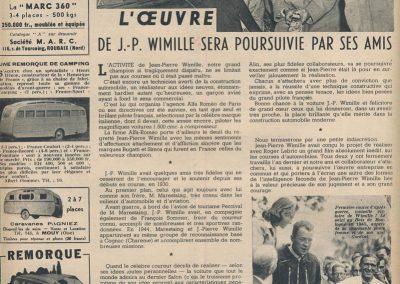 1949 27 01 Hommage à J.P. Wimille 5