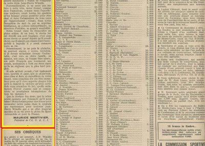 1949 28 01 DC et Enterrement de Wimille 1