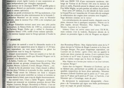 1950 28 05 20ème GP des Frontières à Chimey. 7ème Amilcar Monoplace Le Jamtel Dergi Spécial moteur Simca. 3