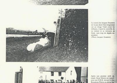 1950 28 05 20ème GP des Frontières à Chimey. 7ème Amilcar Monoplace Le Jamtel Dergi Spécial moteur Simca. 4