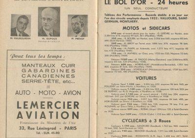 1950 3-5 06 Bol d'Or 22ème Montlhéry 2