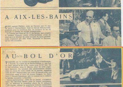 1951 04 06 23eme Bol d'Or, Amilcar Monoplace 1er Cat. Le Jamtel. 5