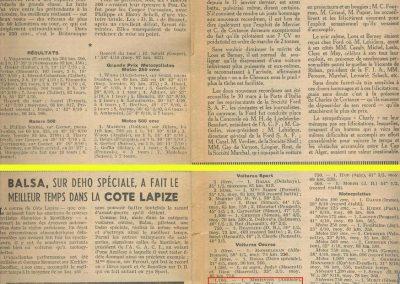 1951 -- 04 Côte Lapize Amilcar MCO 1100, 1er Cat. Mestivier, 33'. 1