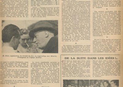 1951 -- 07 23ème Bol d'Or. Ier Cat. Course Le Jamtel, 2ème au gé 001