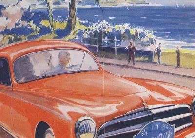 1952 22-29 01 Monte-Carlo Mr-Mme Dc Angelvin, 3ème Simca Sport 1200cc. 1_