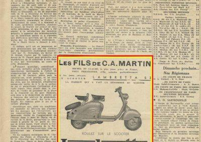 1952 LAMBRETTA Publicité