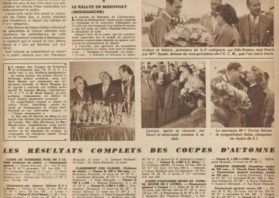 1953 09 03 Coupe d'Automne à Montlhéry. 1er Cat. G. Serraud, Amilcar (Dergi-Redex) Simca-Dého, Monoplace 2
