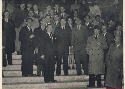 1960 Soirée à l' AGACI, Jeff, Mestvier, Savoye, de Cortanse, Lallemant, C.A. Martin, Géo Ham, Rosier, Scaron, Rosier, Vernet.... . 1_
