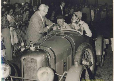 1972 Amilcar à Monte-Carlo, mon père, Denise et Eugène Deurwaerder sur CGSS (course de vitesse en nocturne). 1