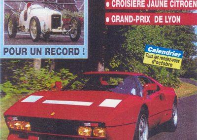 1994 00 10 Revue Auto Passion, Michel Homel, Musée de la Colline 1