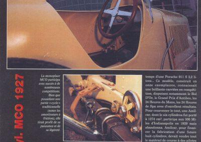 1994 00 10 Revue Auto Passion, Michel Homel, Musée de la Colline 3